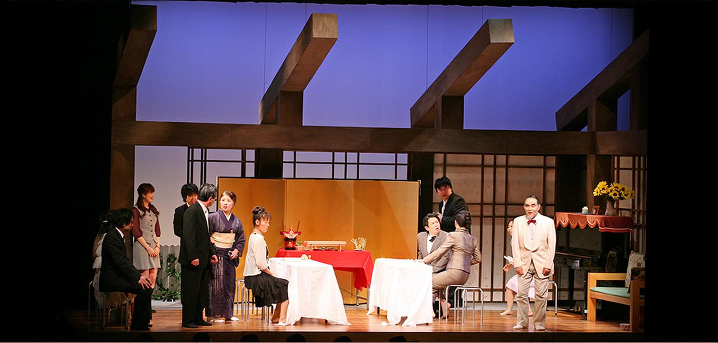 秋田県演劇団体連盟40周年記念事業「猫の恋 昴は天にのぼりつめ」作:畑澤聖悟