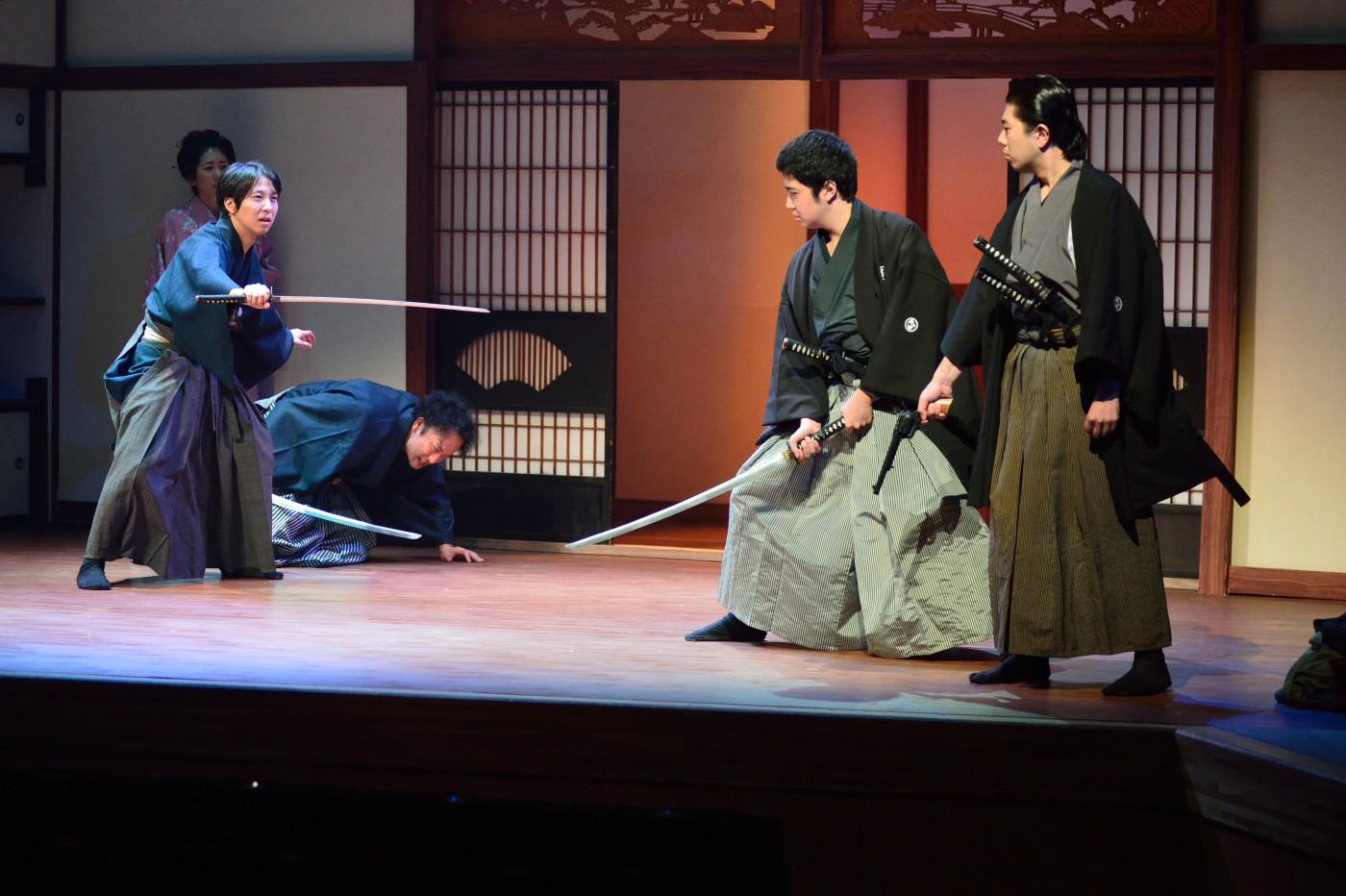 劇団はちのす第24回公演「同盟破棄」作:加藤 正志